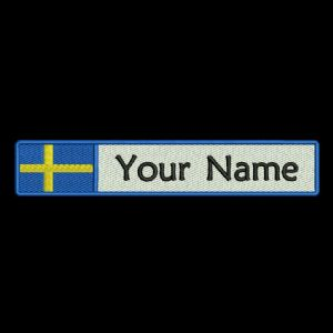 Swedish Flag & Name